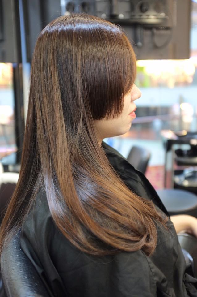 Brown Hair Colour by Focus Hairdressing