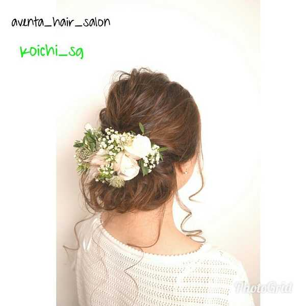 Bridal Hairstyling and Updo by Koichi at Fluxus House