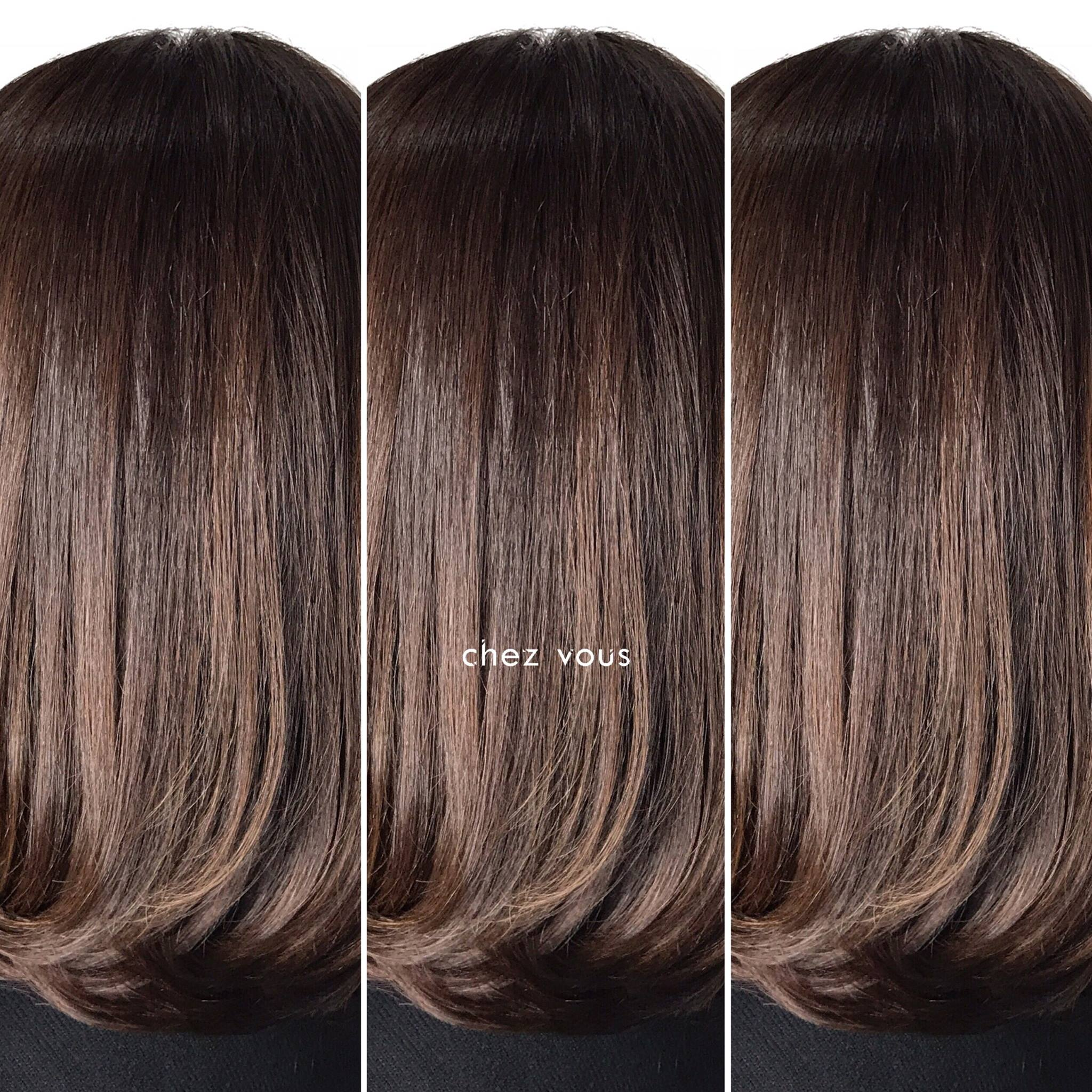 Natural Sunkissed Brown Hair Colour by Chez Vous