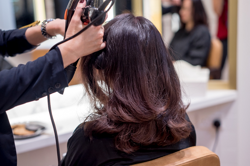 Hair Wash and Blow Dry at The Urban Aesthetics