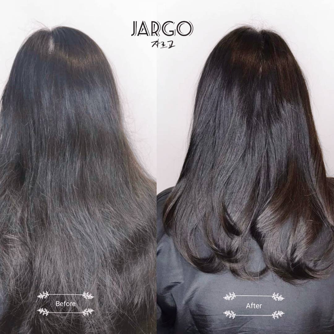Before and After Hair Treatment at The Urban Aesthetics