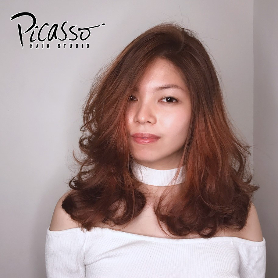 Red Hair Colour by Picasso