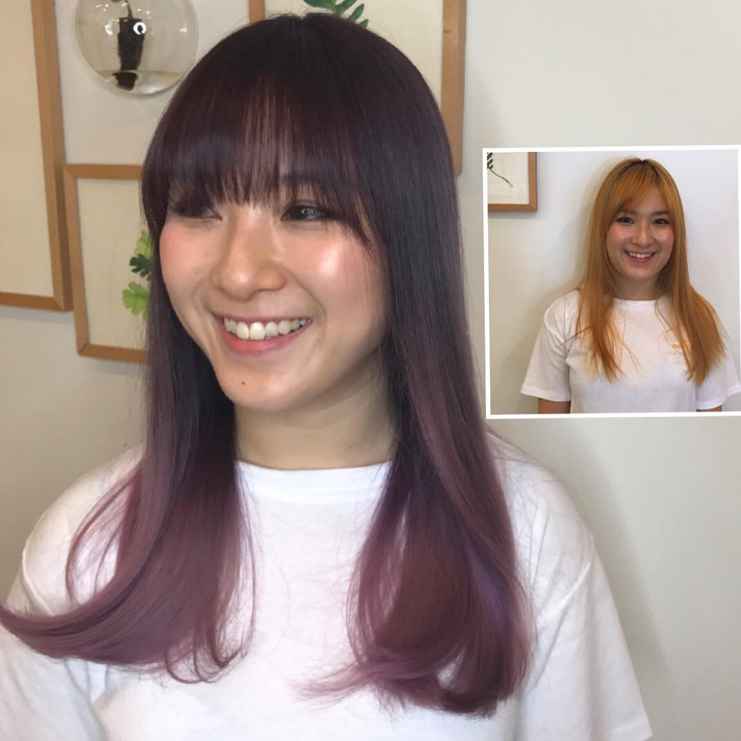 Purple Ombre by Evolve