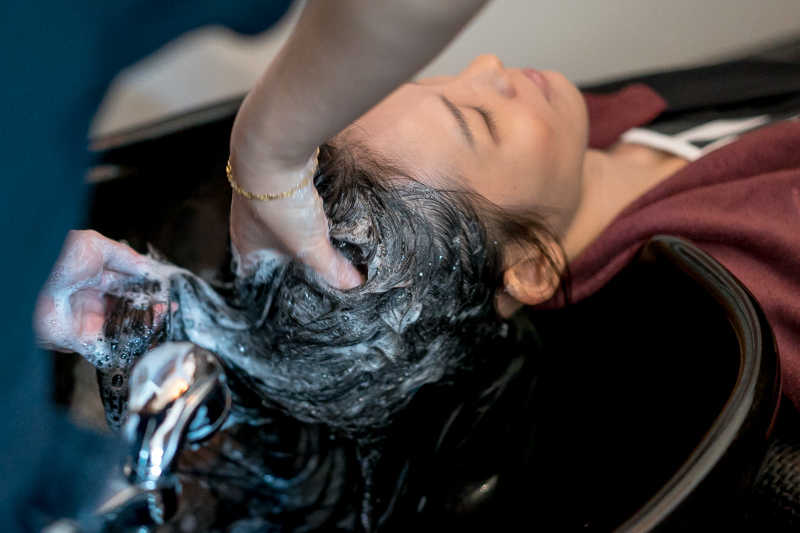 Picasso Hair Studio Relaxing Hair Wash