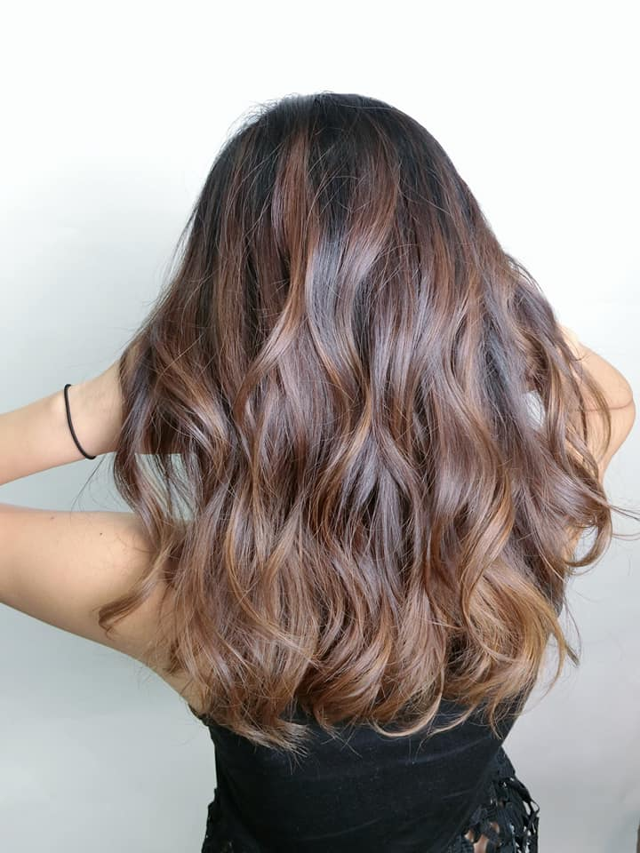 Brown Ombre for Fire Element