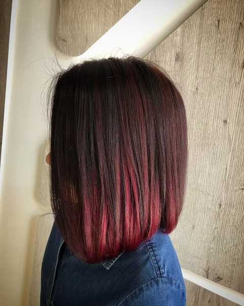 Red Hair Colour for Wood Ba Zi Element