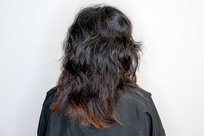 Natural Curl Hair Before Makeover at The Urban Aesthetics