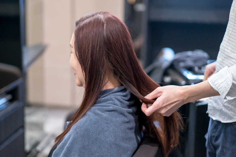 Blow Dry After Treatment