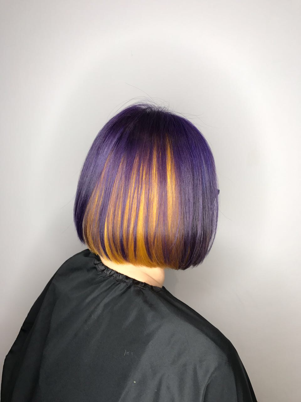 Purple with Yellow Highlights for Wood Ba Zi Element