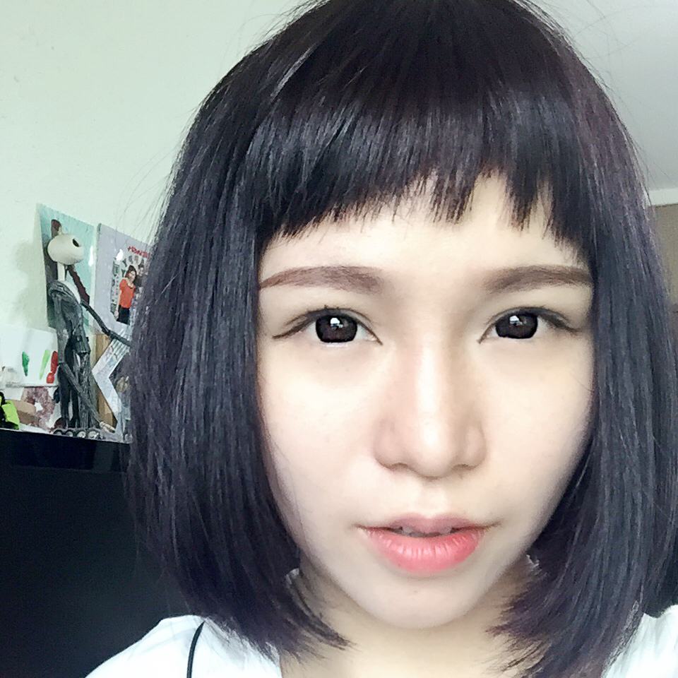 Blunt Bob with Bangs by No. 8 Hair Studio