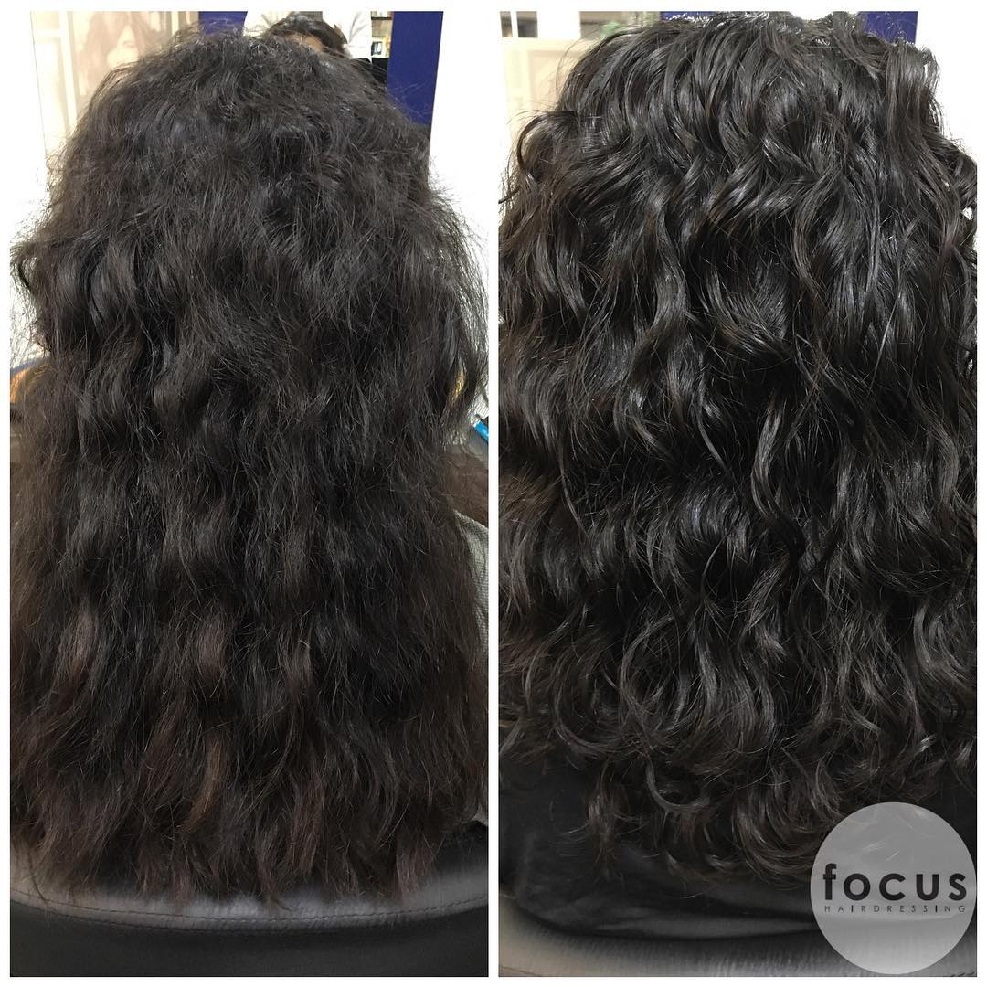 Hair Treatment for Curly Hair by Focus Hairdressing