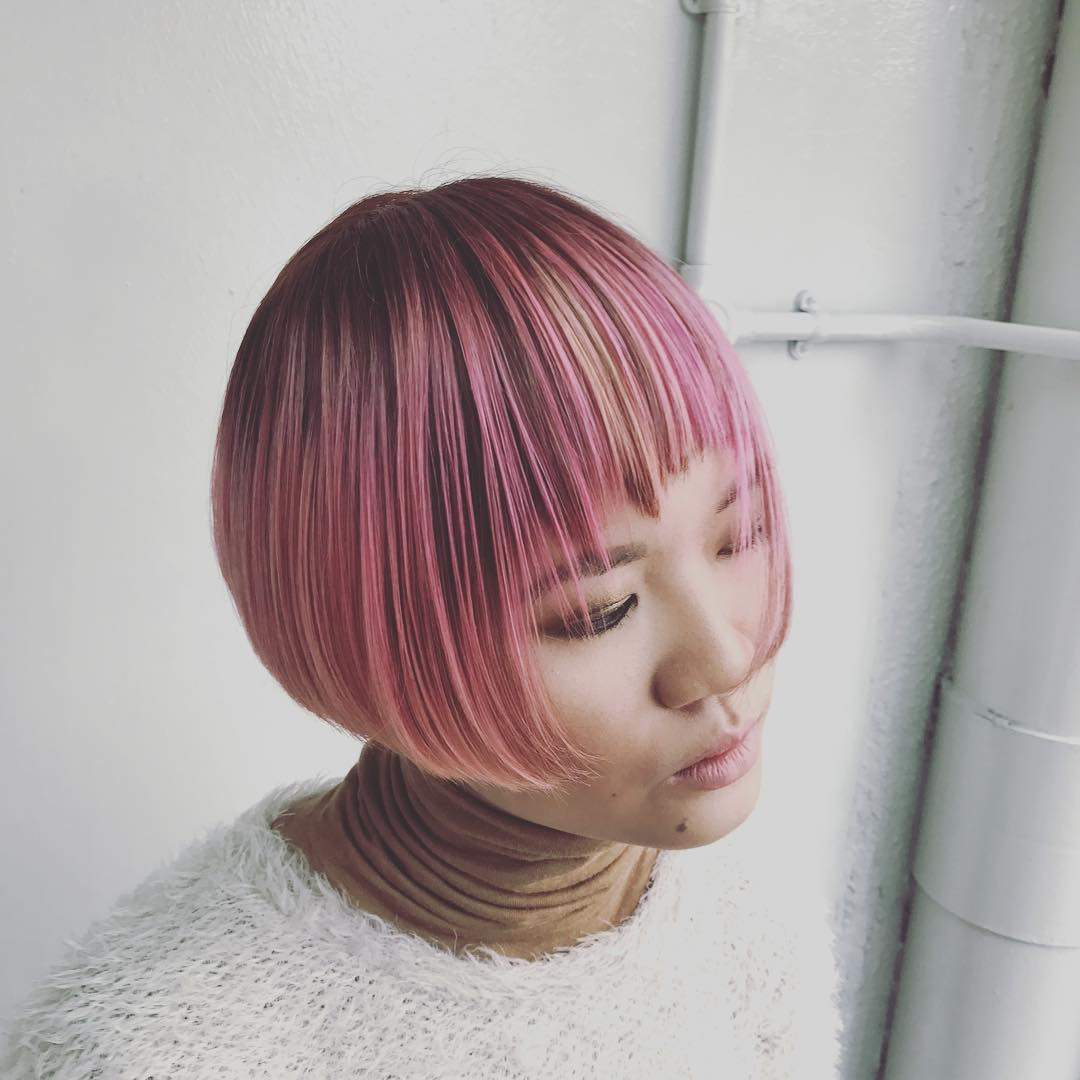 Pink Hair Colour for Monkey Zodiac Sign