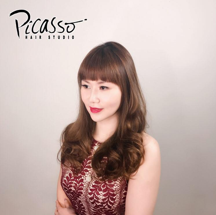 Dark Brown Hair Colour by picasso