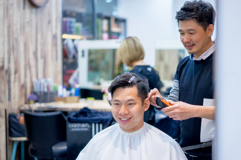 Male Stylist at Act Point Salon
