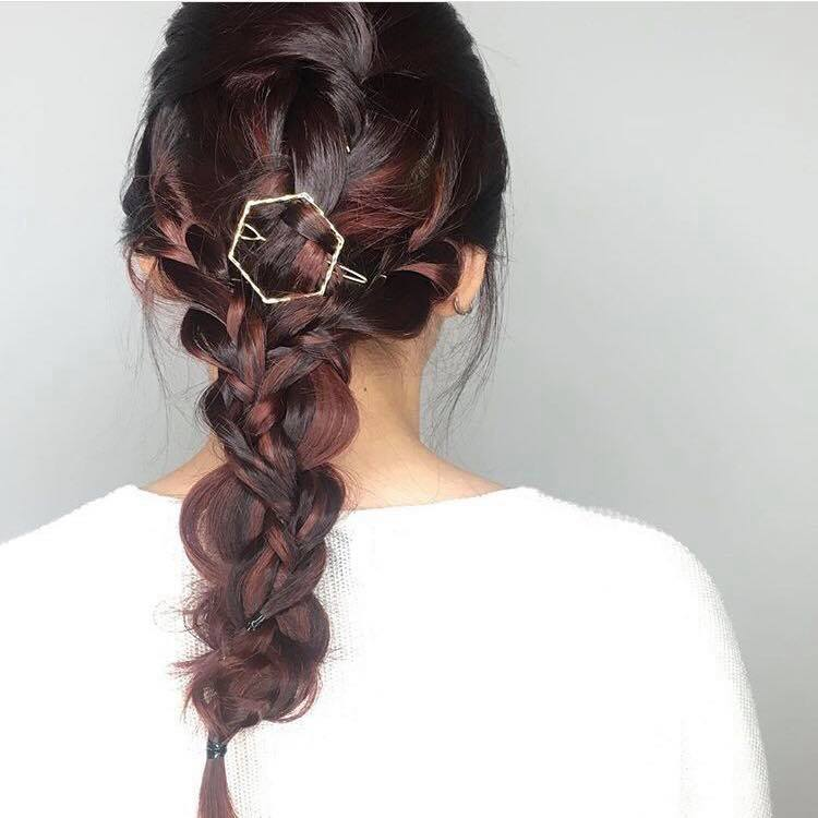 Braided Styling for D&D and Party at Bump by AVENTA