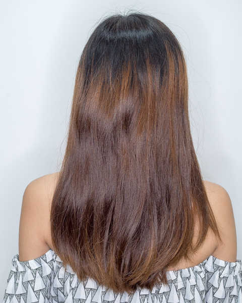 Limp and Straight Hair Before Perm at 99 Percent