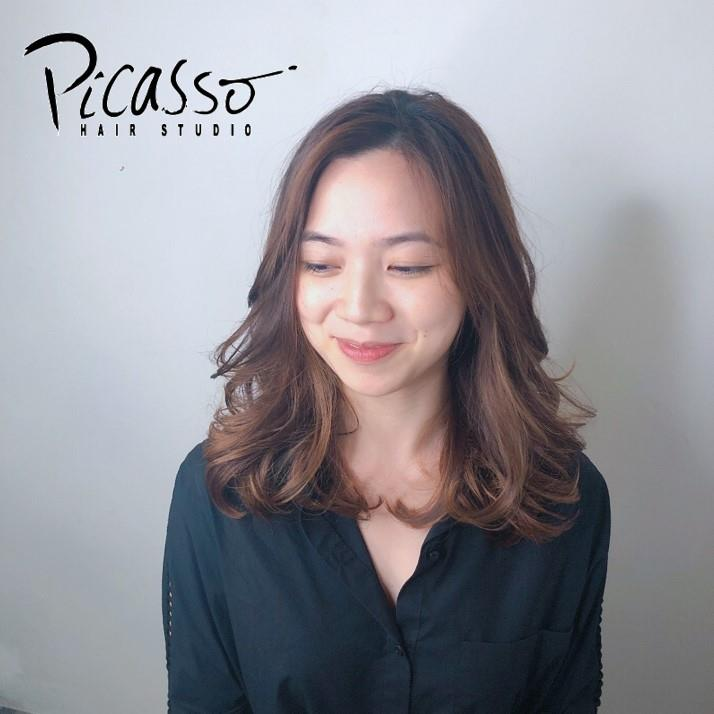 Glamorous Perm by Tiffany from Picasso Hair Studio