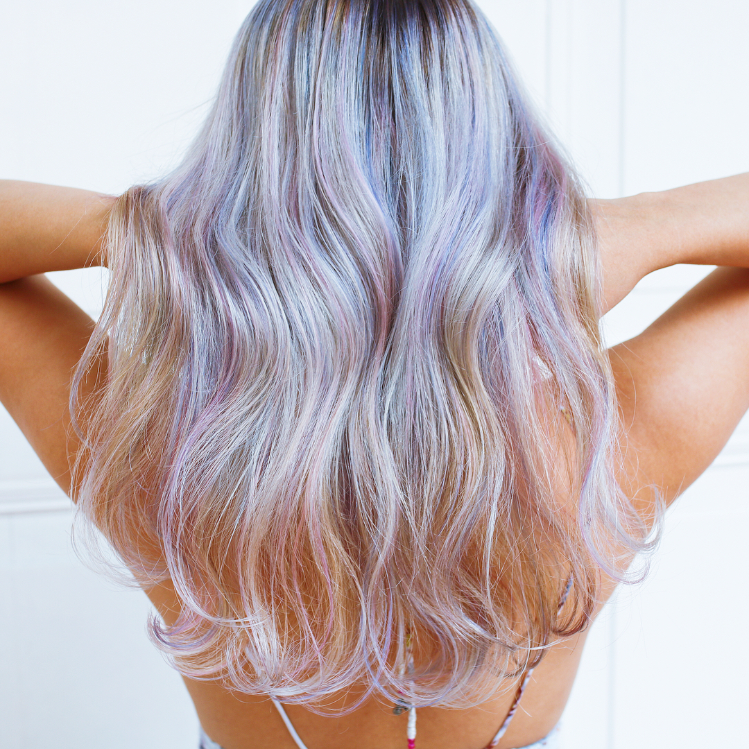 Platinum with Pink Highlights for Monkey Zodiac Sign