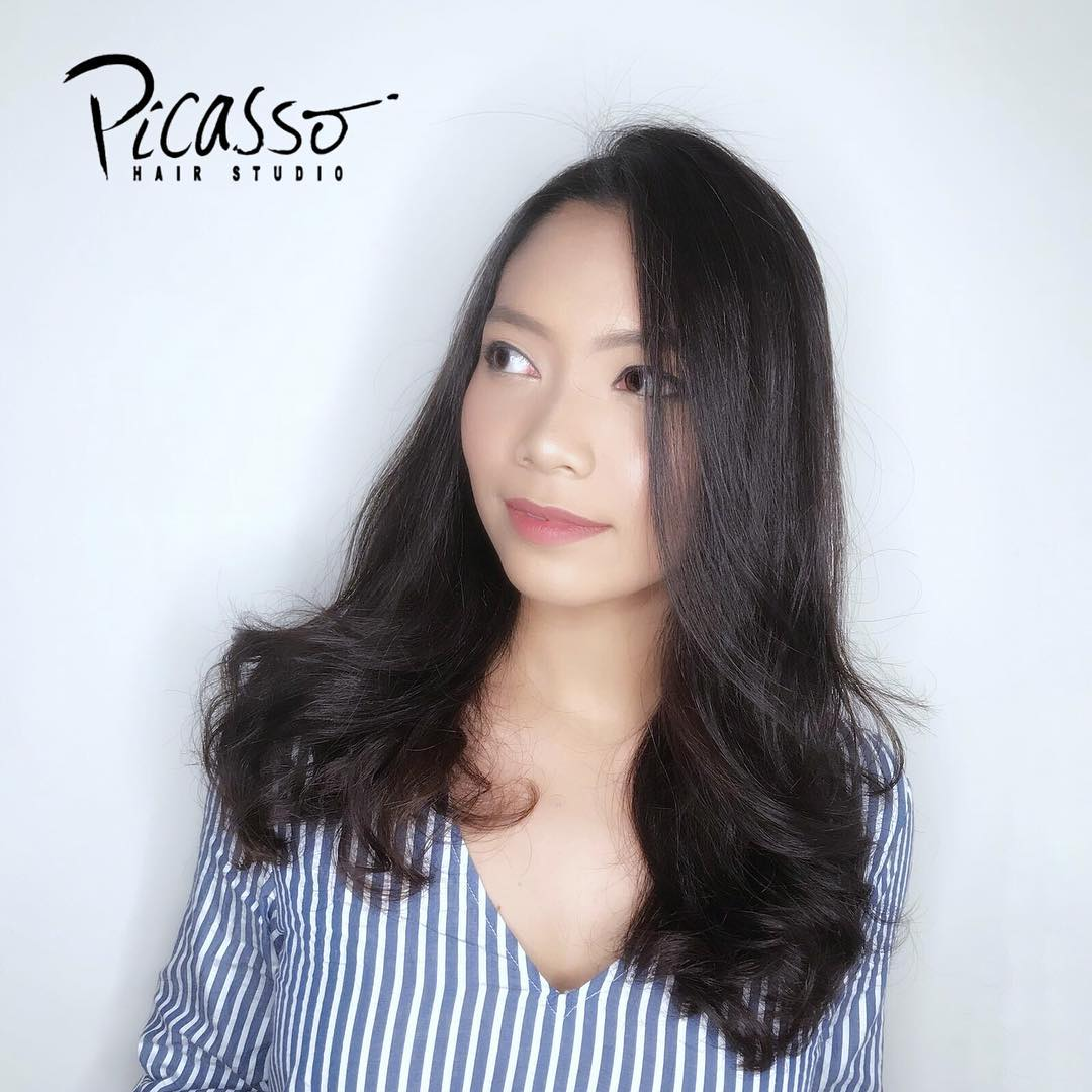 S Curl Perm by Jeremy from Picasso Hair Studio
