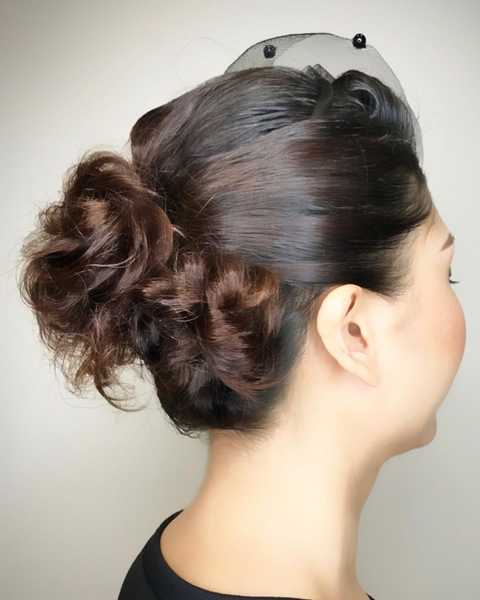 Updo Hairstyling by Branche Hair Salon