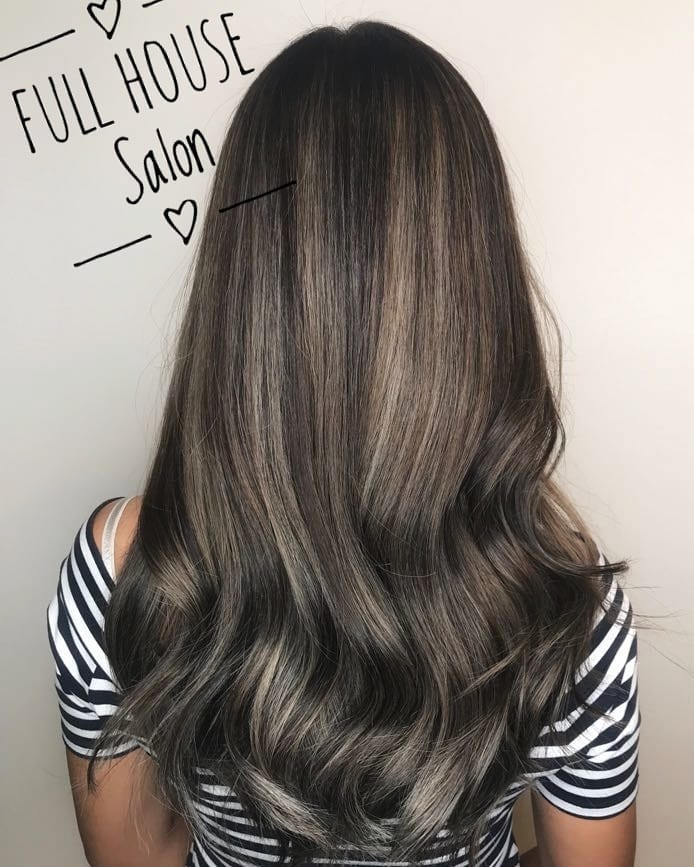 Multi-Colour Brown by Full House Salon