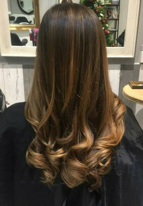 Office Friendly Brown Highlights by Koinonia Salon