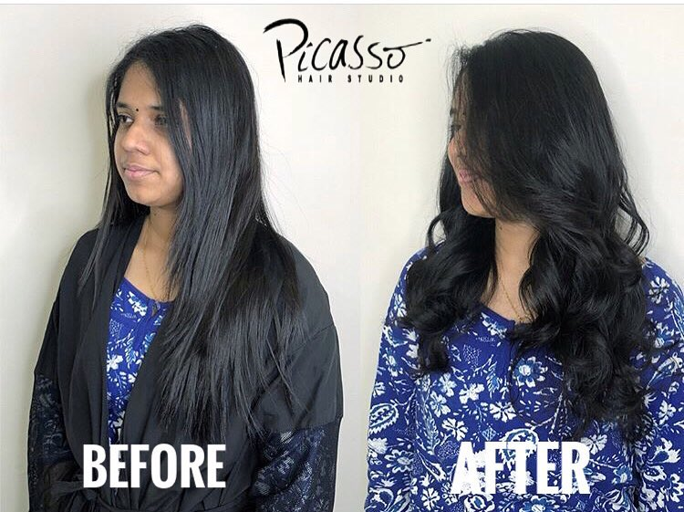 Glamorous Loose Wave for Deepavali by Picasso Hair Studio