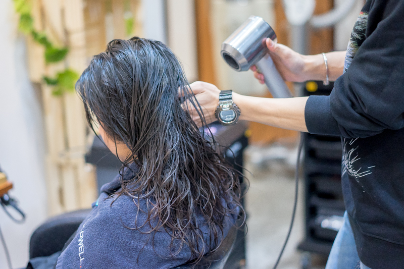 Hair Wash and Blow Dry at Picasso Hair Studio