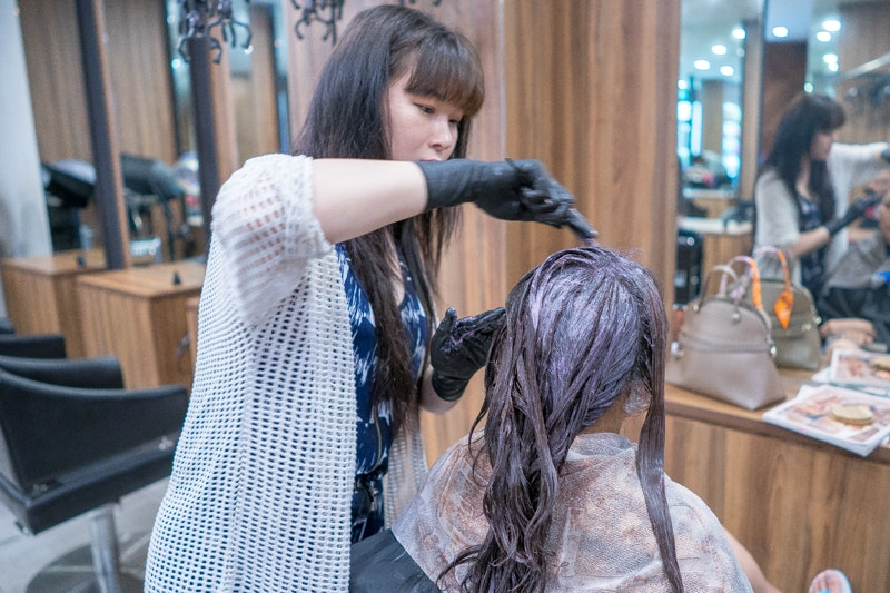 Getting Professional Hair Colour at Style NA