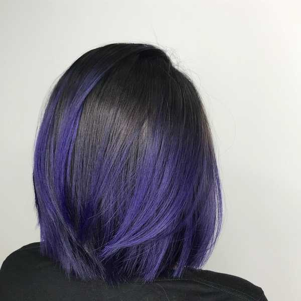 Purple Highlights by Mane Made