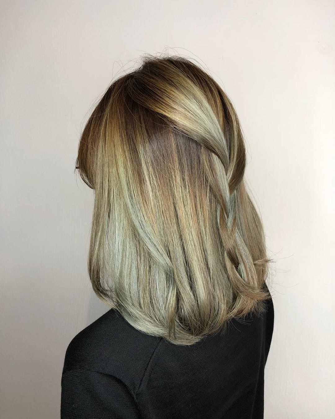 Green Ombre for Halloween at No. 8 Hair Studio