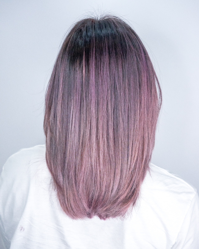 How I Look After Getting Lavender Babylights at 99 Percent Hair Studio