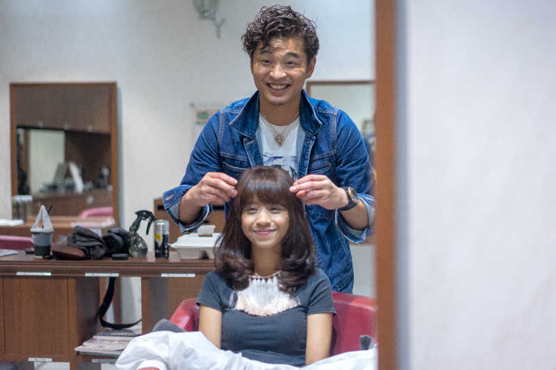 Blow Dry and Hair Styling at Michaela Japanese Hair Salon