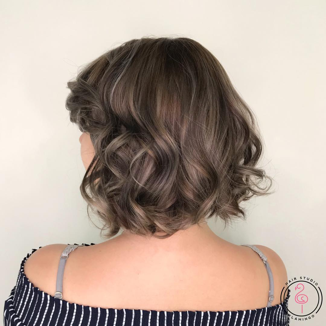 Blonde and Brown Highlights by Flamingo