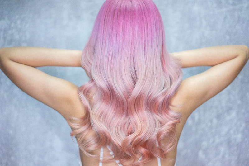 How I Look After Getting Mydentity Bubblegum Rose Hair Colour at Full House Salon