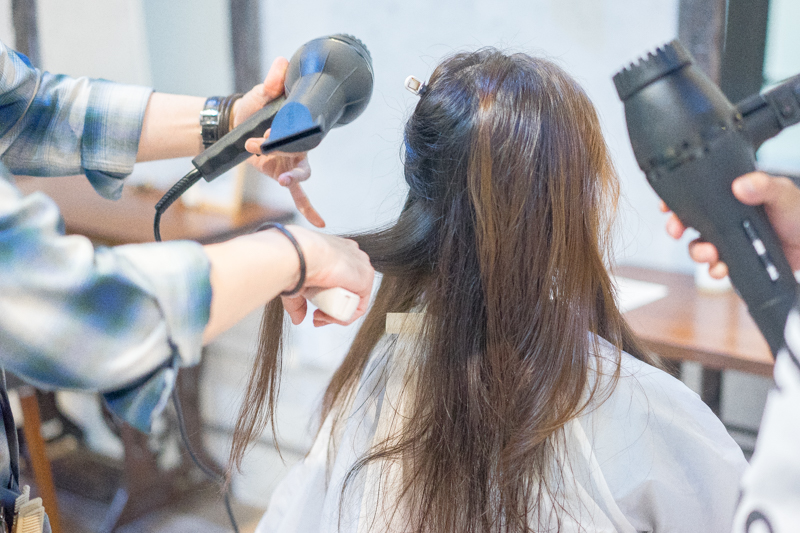 Blow Dry and Styling at Rubik Hair Salon
