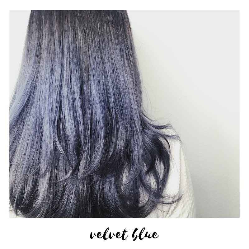 Blue Hair Colour by Yushi from Risel