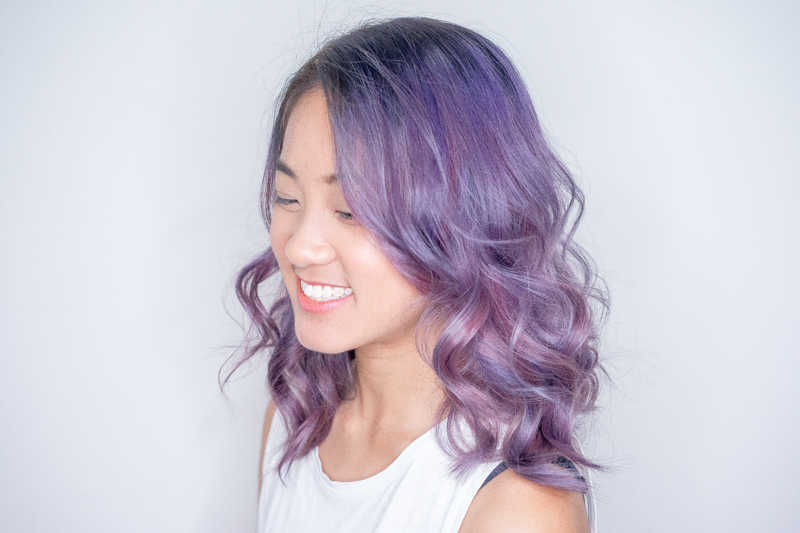 How I Look After Getting Mydentity Lilac Purple Hair Colour at Picasso Hair Studio