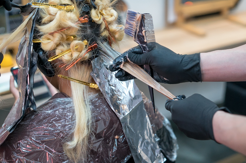 Lilac Purple Hair Dyeing at Picasso Hair Studio