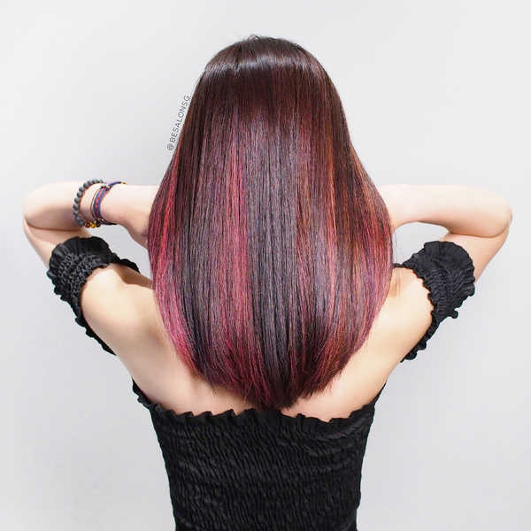 Red Hair Colour for Tiger Zodiac Sign
