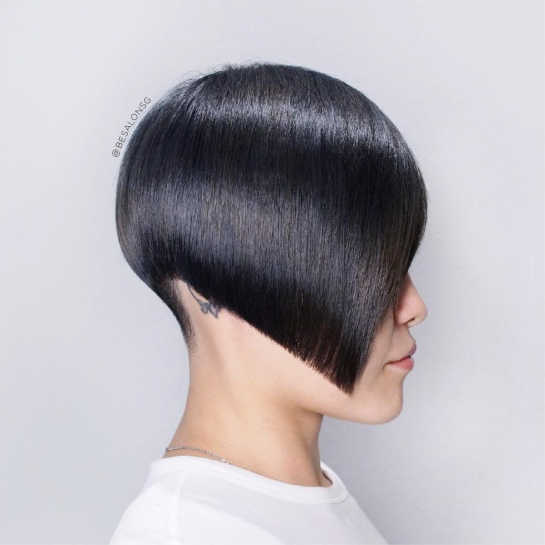 Angled Precision Haircut by Be Salon