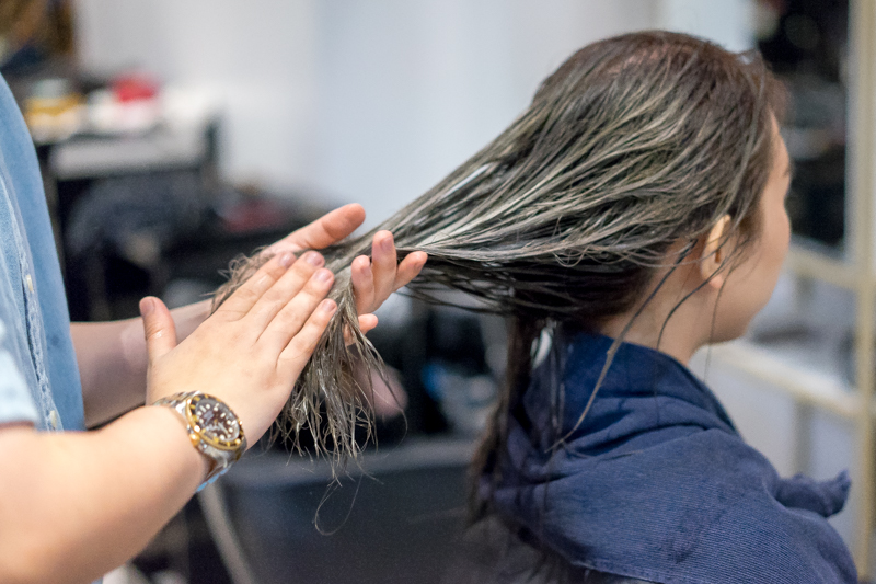 Blow Dry and Styling at Pro Trim Hair Salon