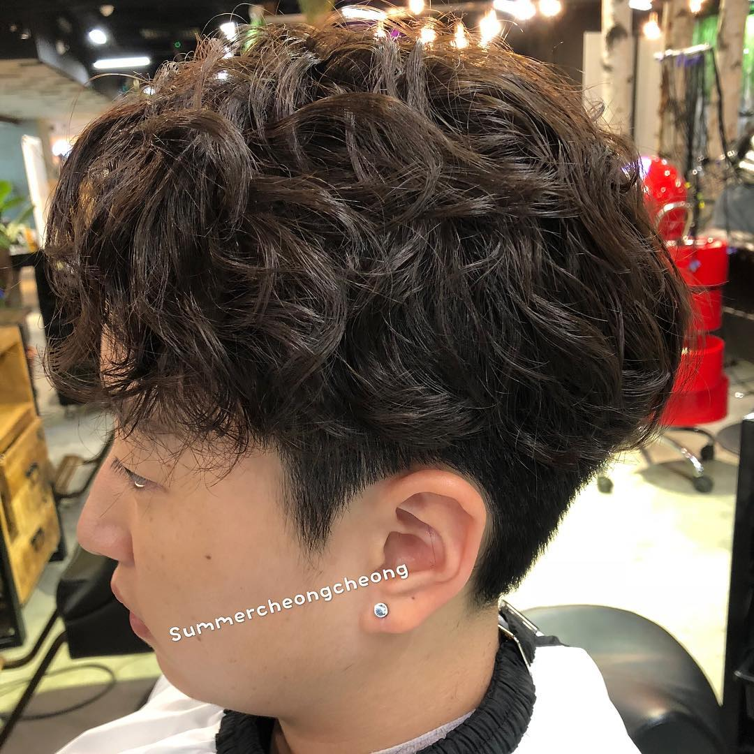 Men Two Block Cut with Textured Full Fringe