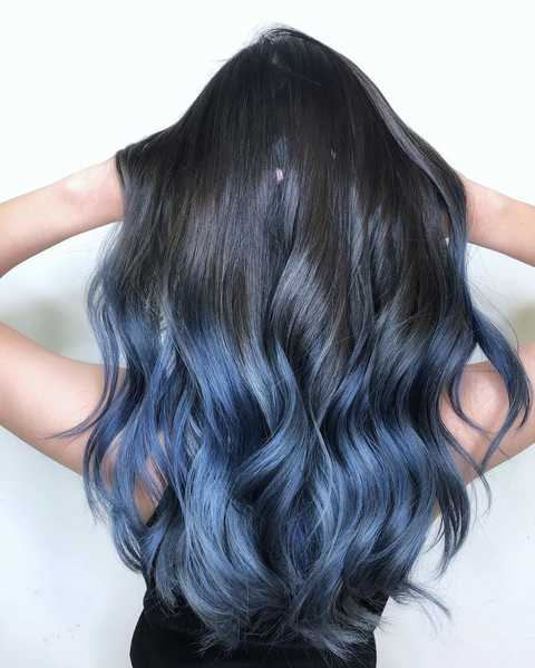 Blue Ombre by Be Salon