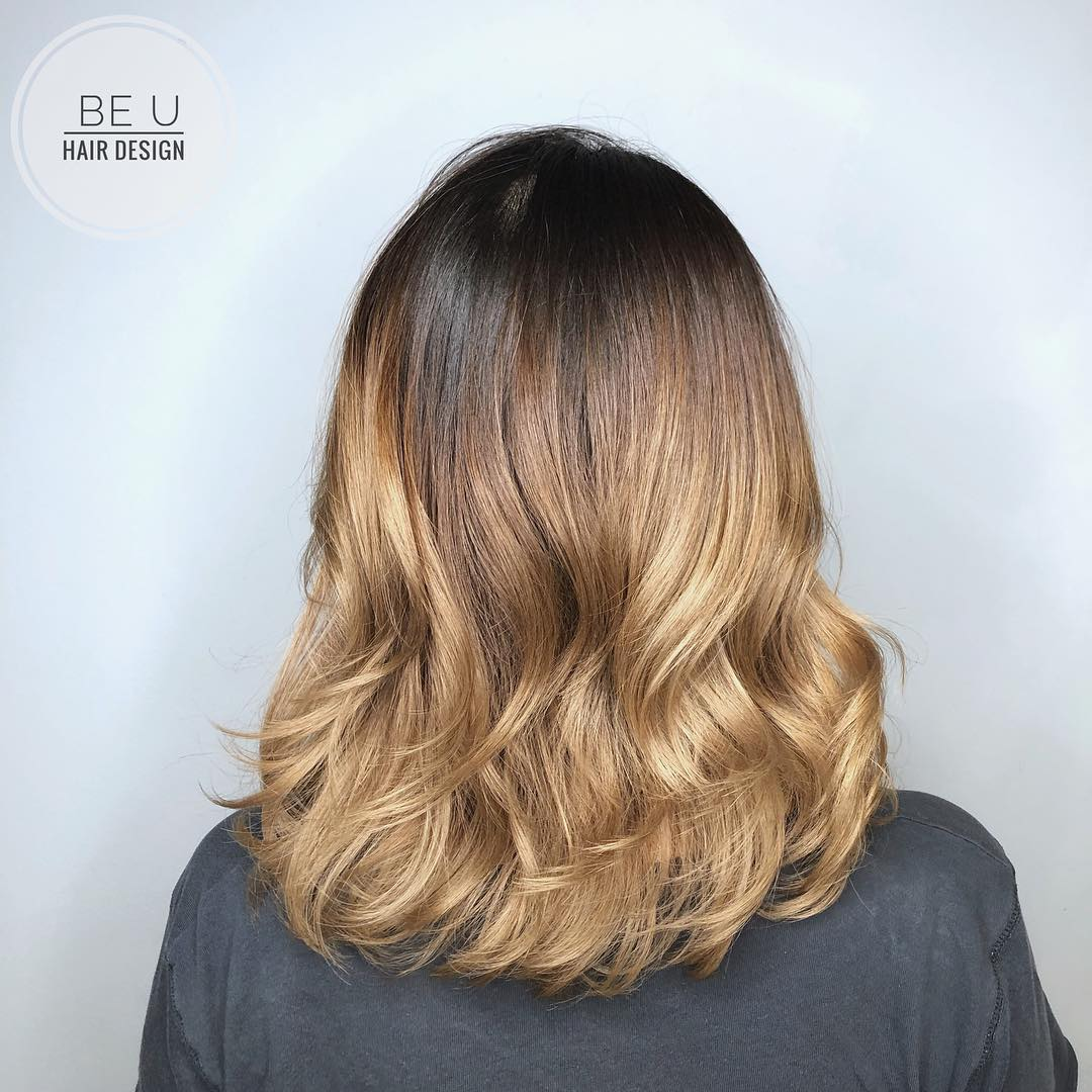 Gold Ombre