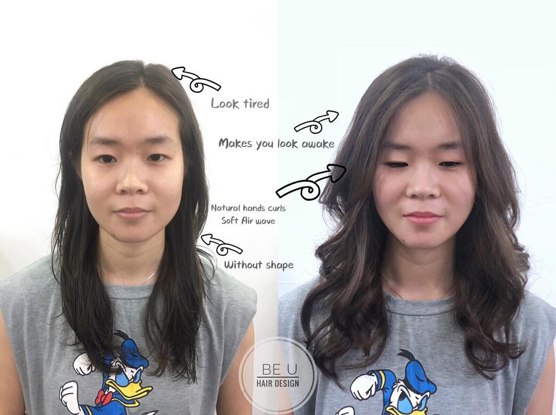 Perm for Thinning Hair by Be U Hair Design