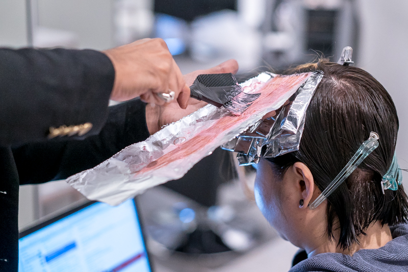 Hair Dyeing at Be Salon