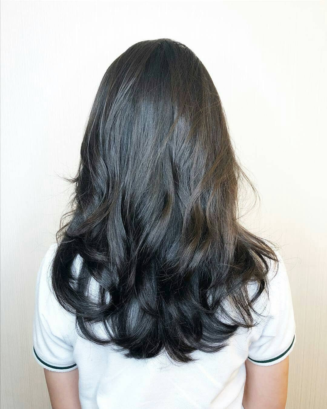 Layered Cut by Zinc Korean Salon to Conceal Thinning Hair