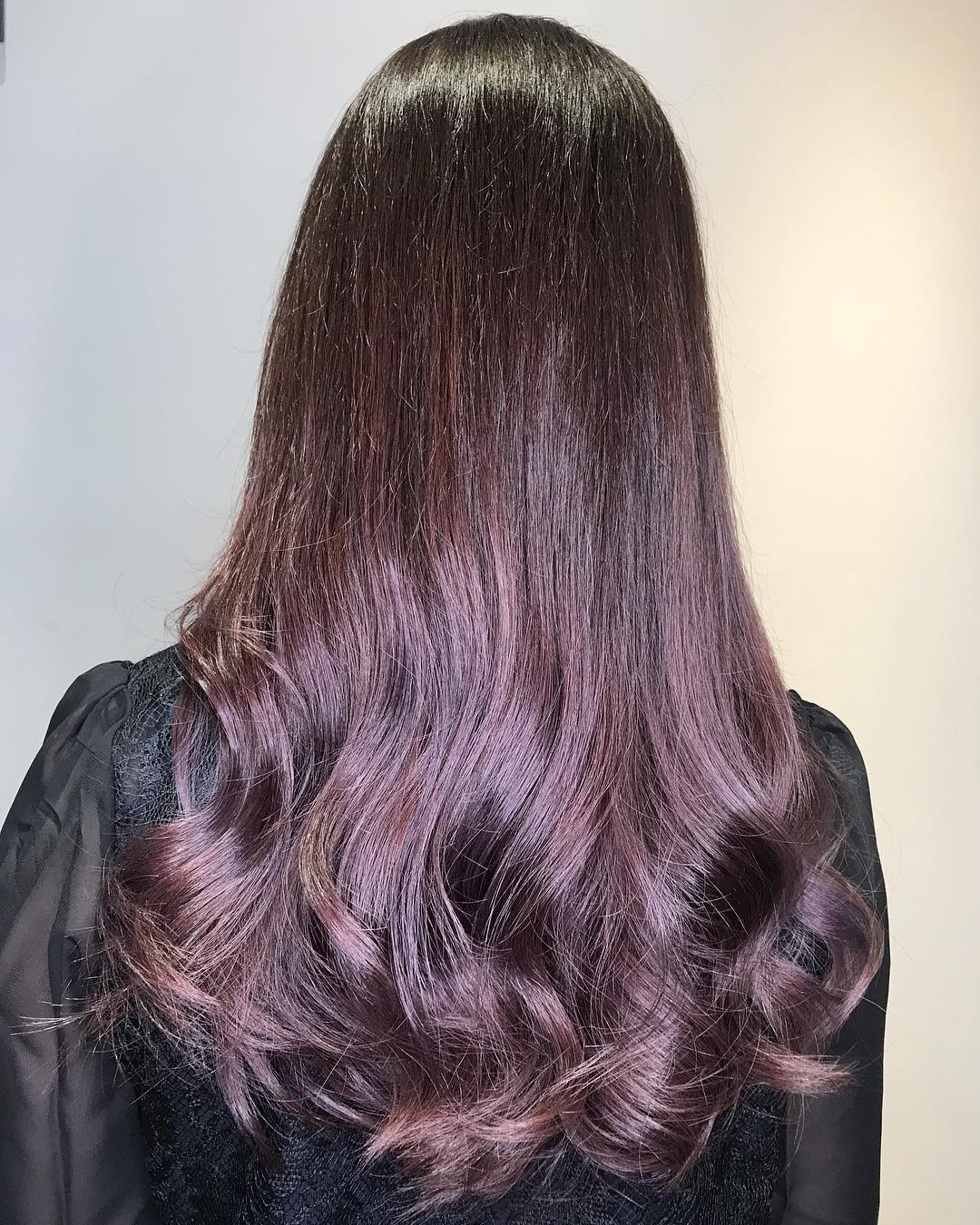 Purple Hair Colour by Ken from Threes