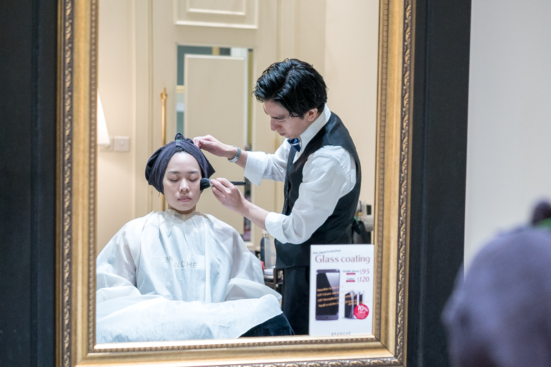 High Quality Makeup Service by Ryo at Branche Hair Salon